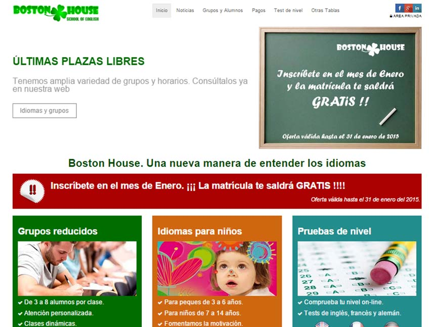Boston House. Nueva referencia de Azaelia en diseño web.